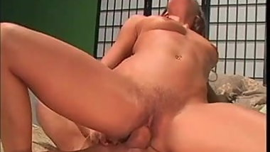 Horny Hairy MILF Nice Sucking And Fucking