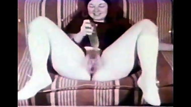 BBC FISTING AND CREAMPIE FOR A VINTAGE CHUBBY