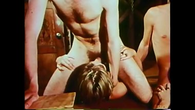 Vintage deepthroating for cum