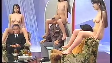 nude japanese girls in japanese vintage tv show