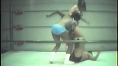 Mixed Ring wrestling. Vintage 5