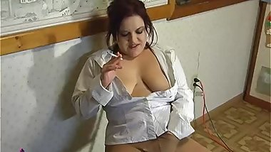 Smoking and Masturbating in Pantyhose - ALHANA WINTER - Vintage RottenStar