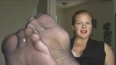 Vintage Annabelle, Foot Worship and Anal Toy Play